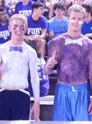 Furman and a lot of Purple